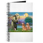 St Francis - 2 Goldens Journal