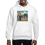 St Francis - 2 Goldens Hooded Sweatshirt