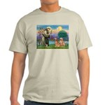 St Francis - 2 Goldens Light T-Shirt