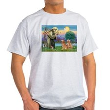 St Francis - 2 Goldens T-Shirt