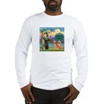 St Francis - 2 Goldens Long Sleeve T-Shirt