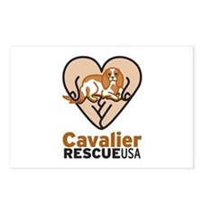 Cavalier Rescue USA Logo Postcards (Package of 8)