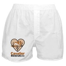 Cavalier Rescue USA Logo Boxer Shorts