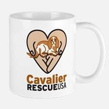 Cavalier Rescue USA Logo Mug