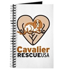 Cavalier Rescue USA Logo Journal