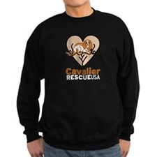 Cavalier Rescue USA Logo Sweatshirt