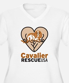 Cavalier Rescue USA Logo T-Shirt