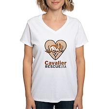 Cavalier Rescue USA Logo Shirt