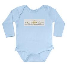 Illuminati Pope Long Sleeve Infant Bodysuit