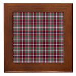 Tartan - Moray of Abercairny Framed Tile