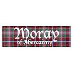 Tartan - Moray of Abercairny Sticker (Bumper 50 pk