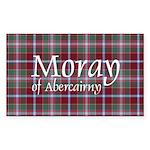 Tartan - Moray of Abercairny Sticker (Rectangle)