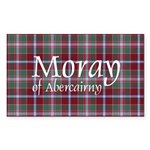 Tartan - Moray of Abercairny Sticker (Rectangle 50