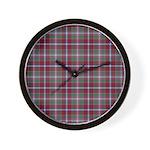 Tartan - Moray of Abercairny Wall Clock