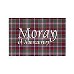 Tartan - Moray of Abercairny Rectangle Magnet