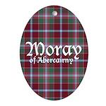 Tartan - Moray of Abercairny Ornament (Oval)