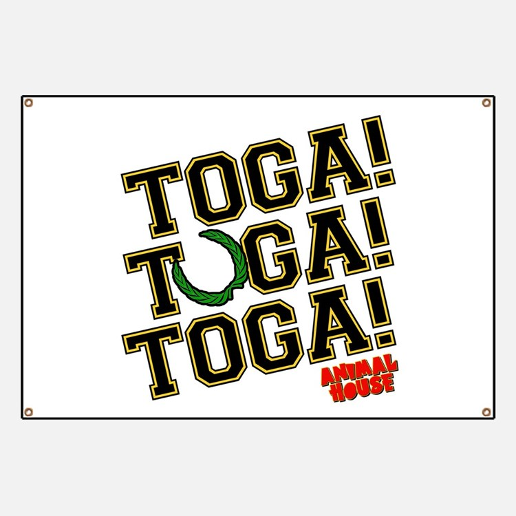 Toga! Animal House Banner