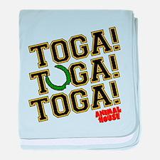 Toga! Animal House baby blanket