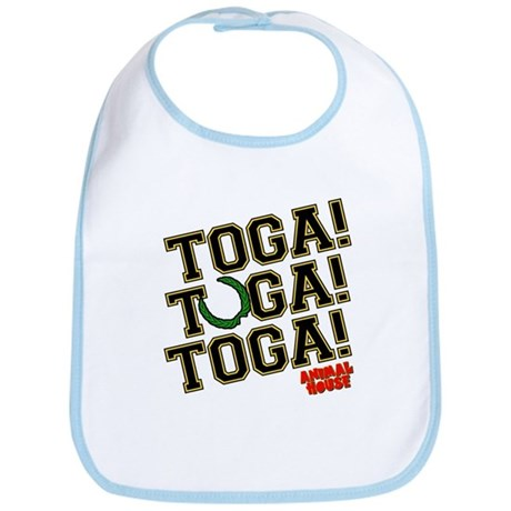 Toga! Animal House Bib
