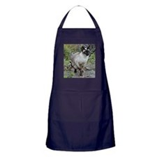 Siamese Cat Apron (dark)