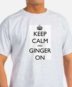 ginger on T-Shirt
