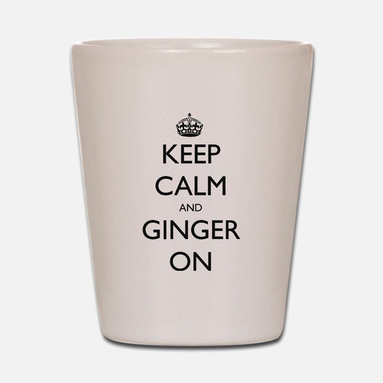 ginger on Shot Glass