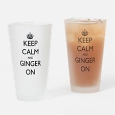 ginger on Drinking Glass
