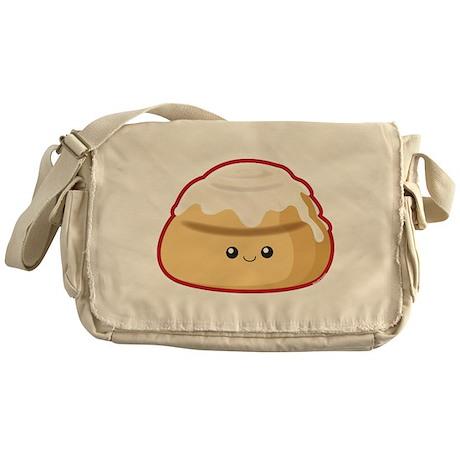 Cinnamon Bun Messenger Bag