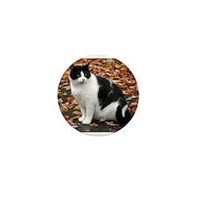 Tuxedo Kitty Mini Button (10 pack)