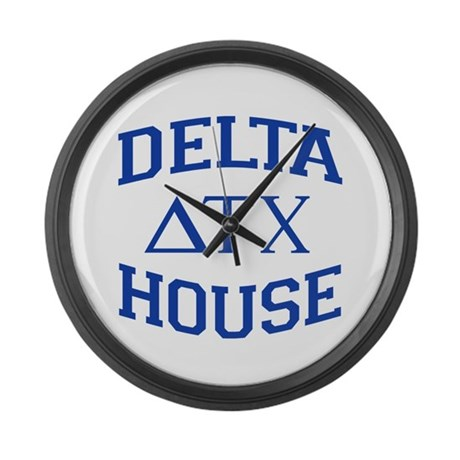Delta House Animal House Large Wall Clock