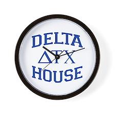 Delta House Animal House Wall Clock