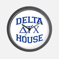 Delta House Animal House Wall Clock