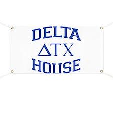 Delta House Animal House Banner