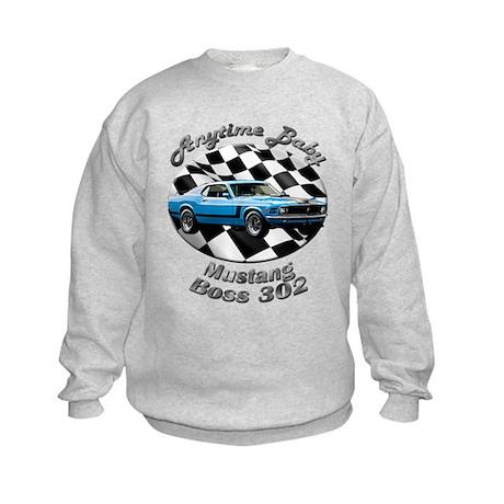Ford Mustang Boss 302 Kids Sweatshirt