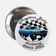 Ford Mustang Boss 302 2.25 Inch Button (10 pack)