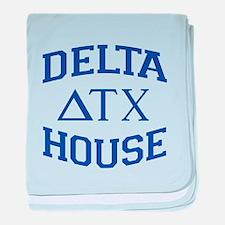 Delta House Animal House baby blanket