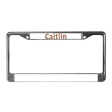 Caitlin Fiesta License Plate Frame
