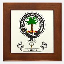Badge-Cairns [Midlothian] Framed Tile