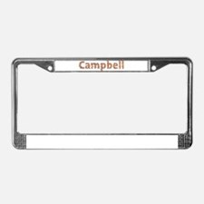 Campbell Fiesta License Plate Frame