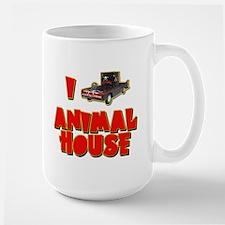 I Love Animal House Deathmobile Large Mug