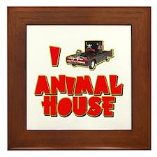 I Love Animal House Deathmobile Framed Tile