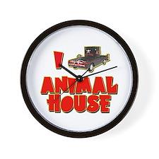 I Love Animal House Deathmobile Wall Clock