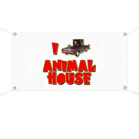 I Love Animal House Deathmobile Banner