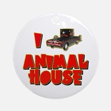 I Love Animal House Deathmobile Ornament (Round)