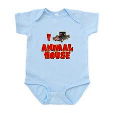 I Love Animal House Deathmobile Infant Bodysuit