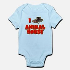 I Love Animal House Deathmobile Infant Bodysuit