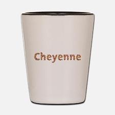 Cheyenne Fiesta Shot Glass