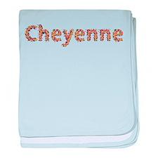 Cheyenne Fiesta baby blanket