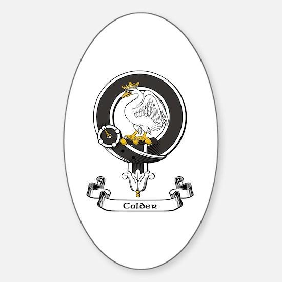 Badge-Calder [Campbell] Sticker (Oval)