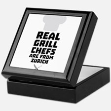 Real Grill Chefs are from Zurich Cc57 Keepsake Box